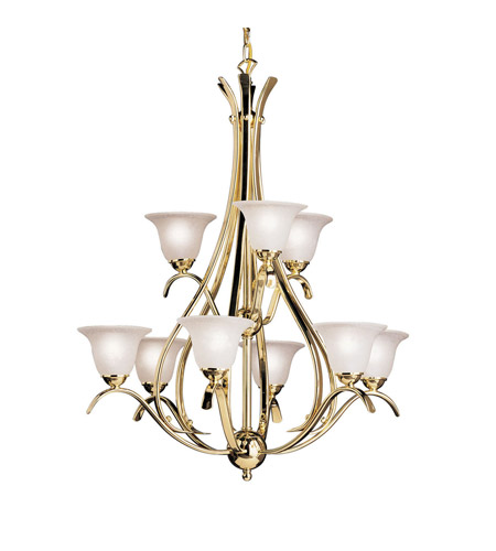 Kichler Lighting Dover Chandelier in Polished Brass 2520PB