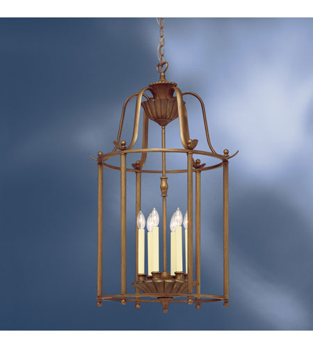 Kichler Lighting Kempton Park 6 Light Foyer Chain Hung in Parisian Bronze 2542PRZ photo