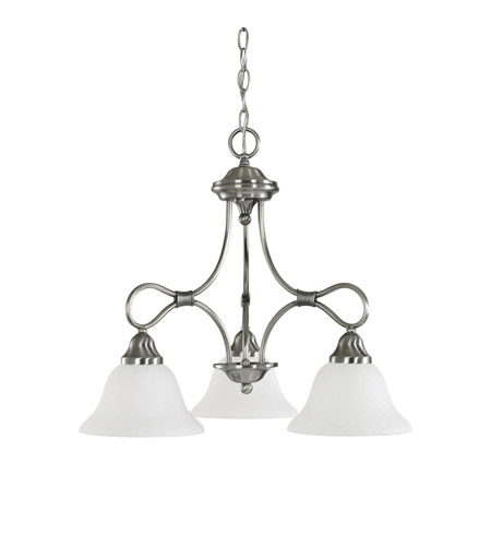 Kichler 2556AP Stafford 3 Light 22 inch Antique Pewter Chandelier Ceiling Light photo