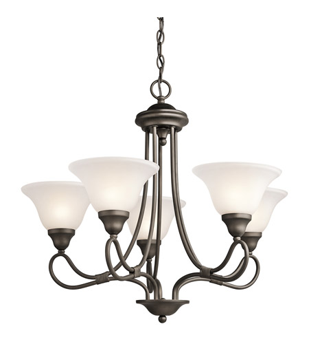 Kichler Lighting Stafford 5 Light Chandelier in Olde Bronze 2557OZ