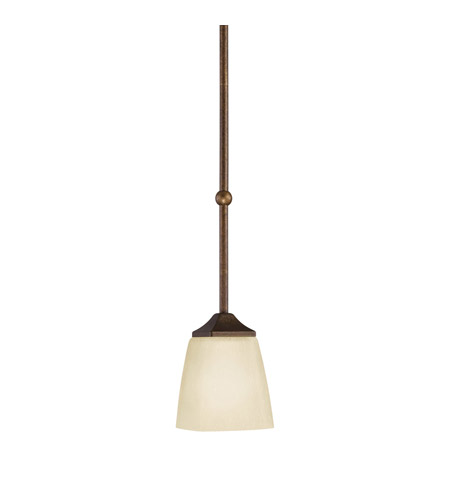 Kichler Lighting Souldern 1 Light Mini Pendant in Marbled Bronze 2616MBZ