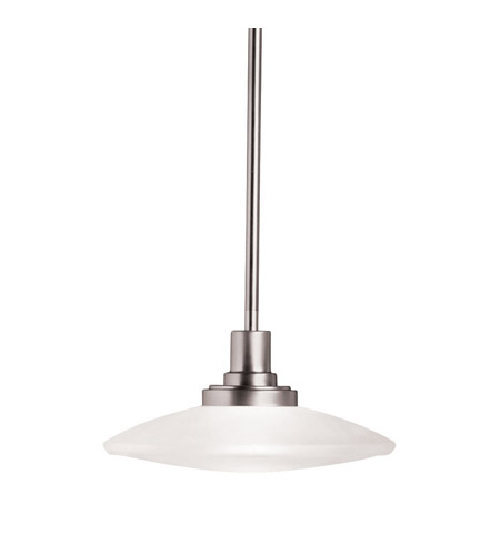 Kichler Lighting Structures 1 Light Pendant in Brushed Nickel 2652NI