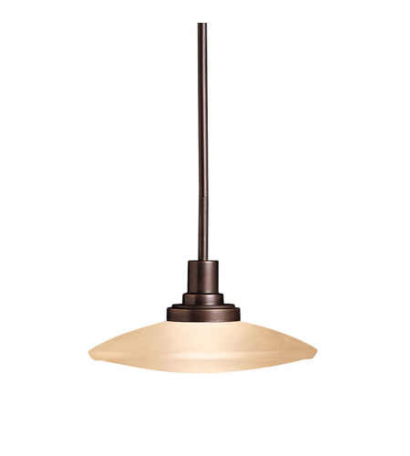 Kichler Lighting Structures 1 Light Pendant in Olde Bronze 2652OZ