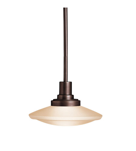 Kichler Lighting Structures 1 Light Mini Pendant in Olde Bronze 2655OZ