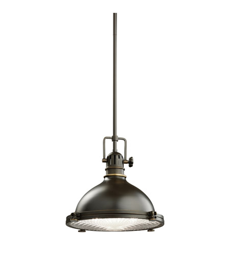 Kichler 2665OZ Hatteras Bay 1 Light 12 inch Olde Bronze Pendant Ceiling Light photo