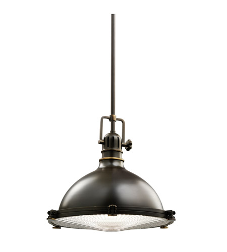 Kichler 2666OZ Hatteras Bay 1 Light 13 inch Olde Bronze Pendant Ceiling Light photo