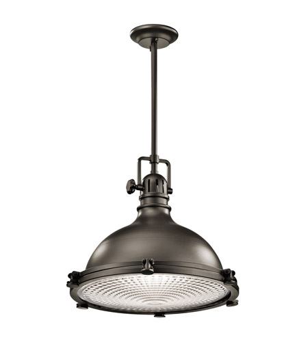Kichler 2682OZ Hatteras Bay 1 Light 18 inch Olde Bronze Pendant Ceiling Light photo