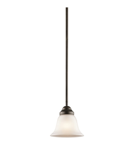 Kichler Lighting Wynberg 1 Light Mini Pendant in Olde Bronze 2693OZ