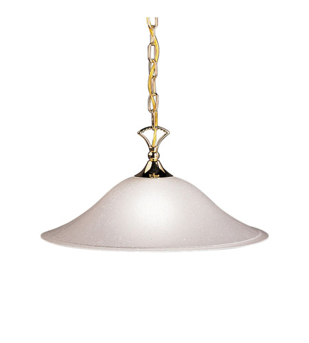 Kichler Lighting Hastings Pendant in Polished Brass 2702PB