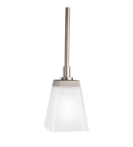 Kichler Lighting Urban Ice 1 Light Mini Pendant in Antique Pewter 2759AP