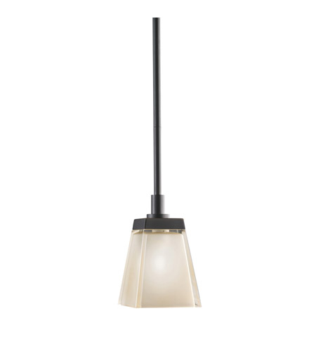 Kichler Lighting Urban Ice 1 Light Mini Pendant in Olde Bronze 2759OZ