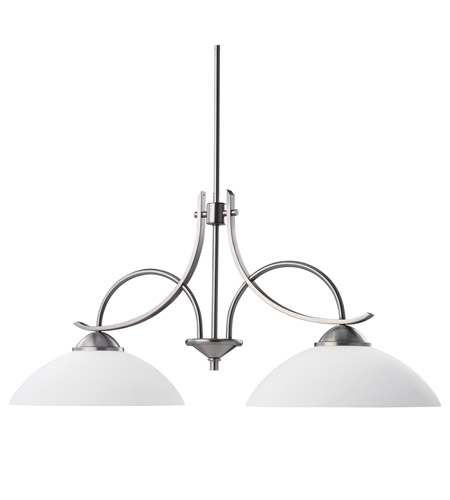 Kichler Lighting Olympia 2 Light Island Light in Antique Pewter 2978AP
