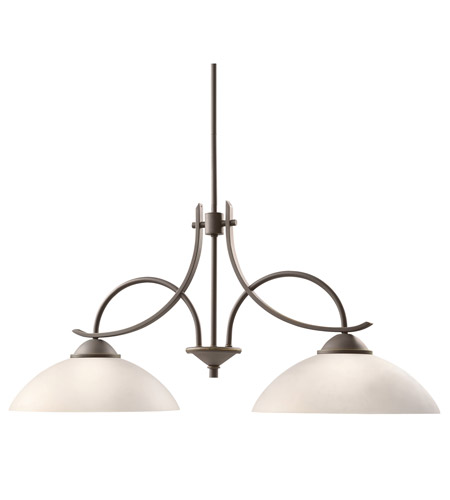 Kichler Lighting Olympia 2 Light Island Pendant in Olde Bronze 2978OZW