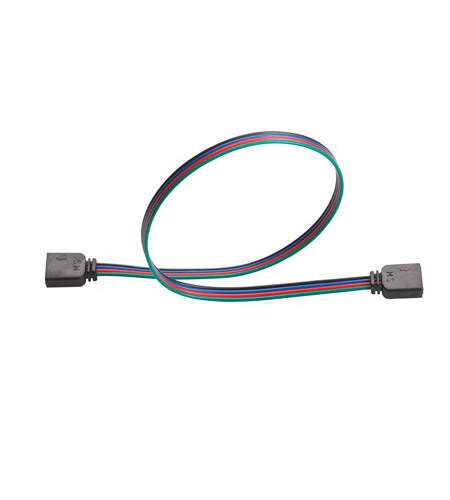 Kichler Lighting LED Tape Interconnect RGB 12in in Black Material 2IC12RGBBK
