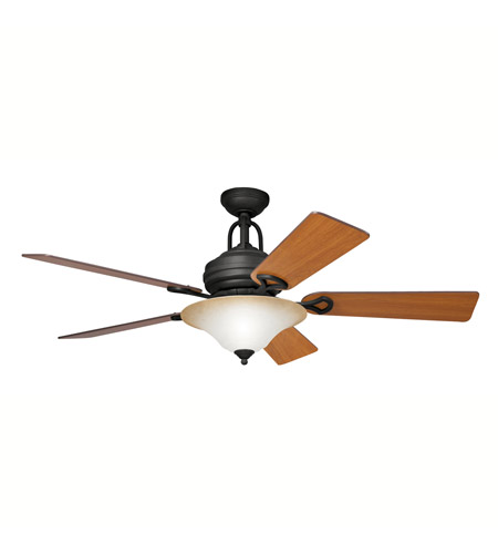 Kichler Lighting Meredith 3 Light Fan in Distressed Black 300004DBK photo
