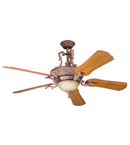 Kichler Lighting Kimberley Fan in Aged Pecan 300008APC