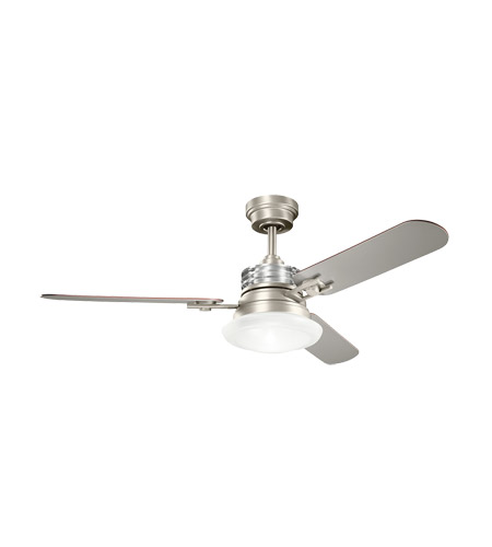 Kichler Lighting Structures 1 Light Fan in Brushed Nickel 300009NI photo