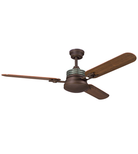 Kichler Lighting Structures 1 Light Fan in Olde Bronze 300009OZ