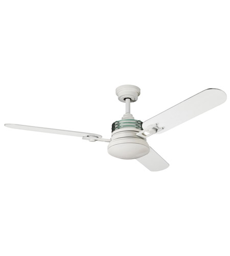 Kichler Lighting Structures 1 Light Fan in Satin Natural White 300009SNW