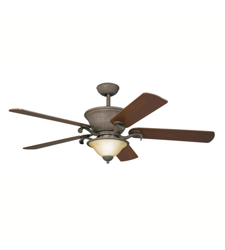 Kichler Lighting High Country Fan in Old Iron 300010OI