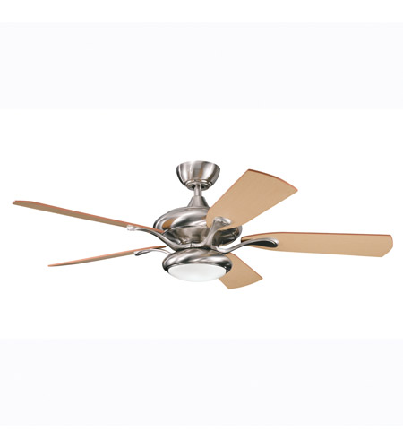 Kichler Lighting Aldrin Fan in Brushed Stainless Steel 300014BSS