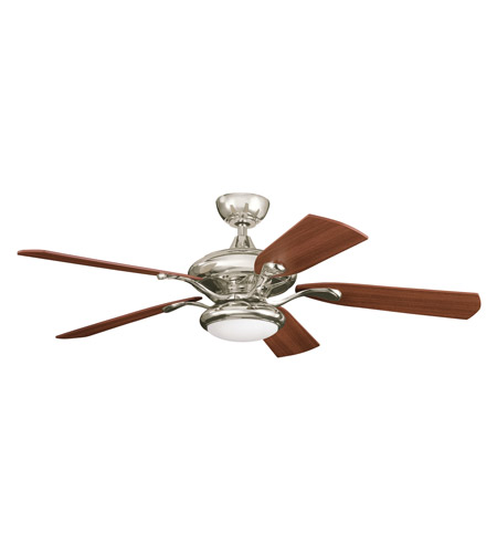 Kichler Lighting Aldrin Fan in Polished Nickel 300014PN
