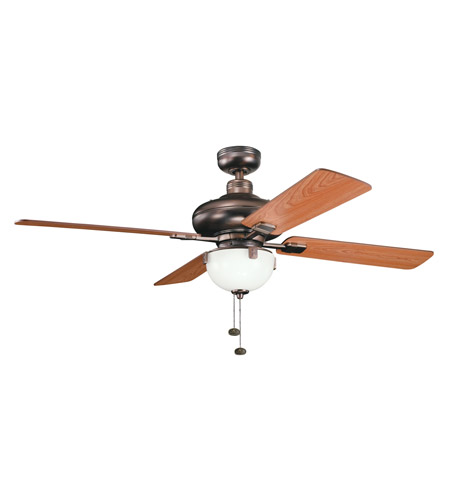 Kichler Lighting Bronson Fan in Oil Brushed Bronze 300015OBB