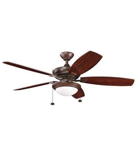 Kichler Lighting Canfield Select Fan in Tannery Bronze 300016TZ