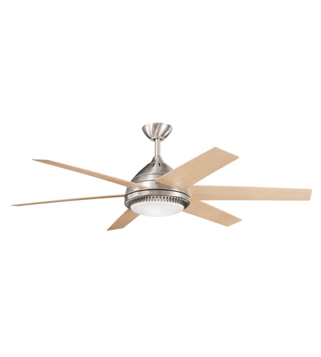Kichler Lighting Ceres Fan in Brushed Stainless Steel 300021BSS