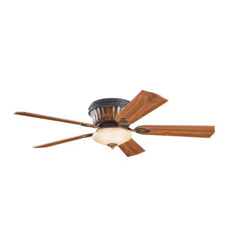 Kichler Lighting Dorset Fan in Mediterranean Walnut 300022MDW