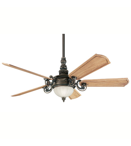 Kichler Lighting Highland Manor Fan in Oiled Bronze 300101OLZ
