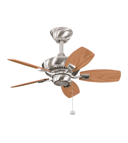 Kichler Lighting Canfield Fan in Brushed Stainless Steel 300103BSS photo