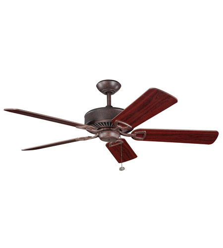 Kichler Lighting Kedron Fan in Tannery Bronze 300104TZ photo