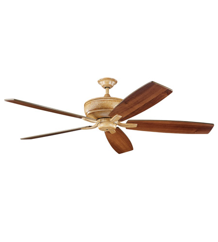 Kichler Lighting Monarch Fan in Wispy Brulee 300106WBR photo
