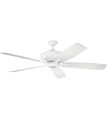 Kichler 300106WH Monarch 70 inch White White Fan photo