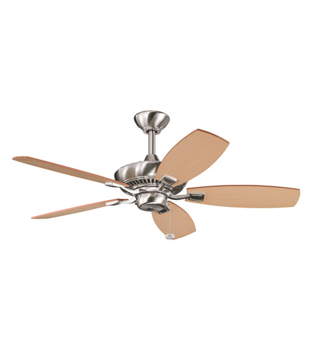 Kichler Lighting Canfield Fan in Brushed Stainless Steel 300107BSS photo