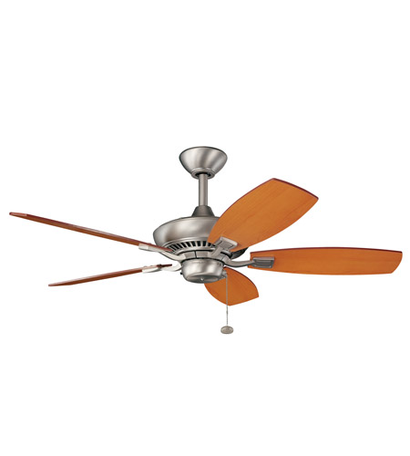 Kichler 300107NI Canfield 44 inch Brushed Nickel with Maple Blades Fan photo