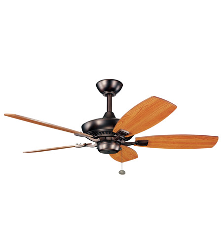 Kichler 300107OBB Canfield 44 inch Oil Brushed Bronze with Walnut Blades Fan photo