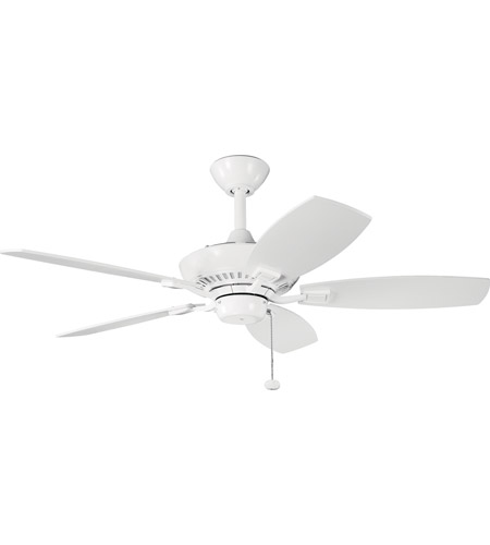 Kichler 300107WH Canfield 44 inch White Fan photo