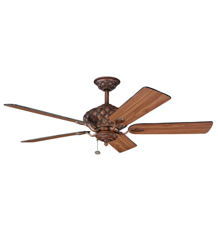 Kichler Lighting LaSalle Fan in Mediterranean Walnut 300109MDW photo
