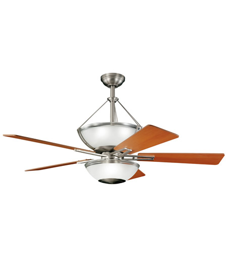 Kichler Lighting Lucia 2 Light Fan in Brushed Nickel 300111NI photo