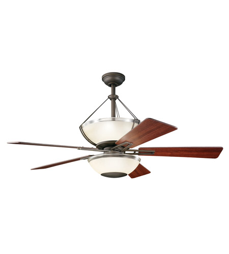 Kichler Lighting Lucia 2 Light Fan in Olde Bronze 300111OZ