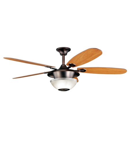 Kichler Lighting Keswick Fan in Oil Brushed Bronze 300112OBB
