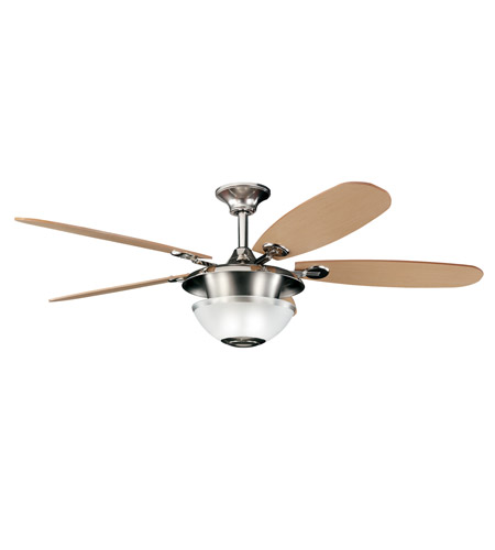Kichler Lighting Keswick Fan in Polished Nickel 300112PN