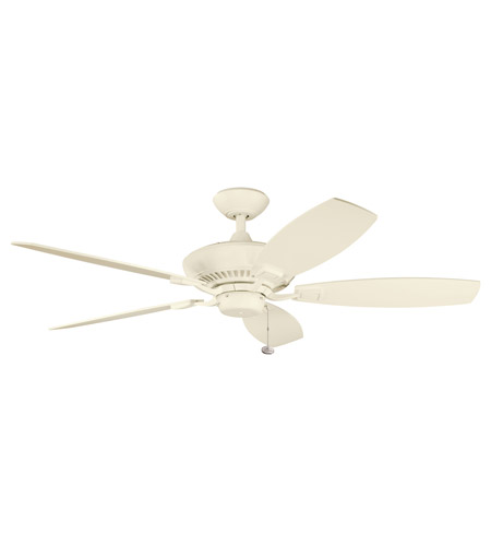 Kichler Lighting Canfield Fan in Adobe Cream 300117ADC