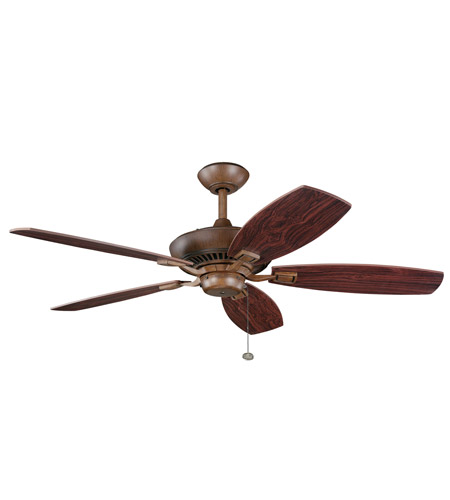 Kichler Lighting Canfield Fan in Antique Wood 300117AWD photo