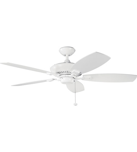 Kichler 300117WH Canfield 52 inch White Fan photo