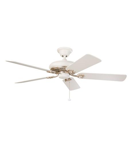 Gold Ceiling Fan : Kichler bentzen ceiling fan in satin natural white with