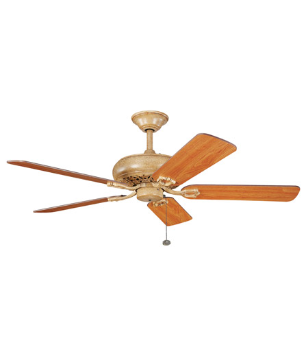 Kichler Lighting Bentzen Fan in Wispy Brulee 300118WBR