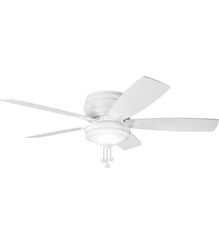 Kichler 300119WH Windham 52 inch White Outdoor Fan photo